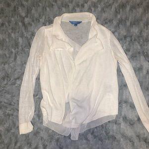 Cotton sweater/cardigan
